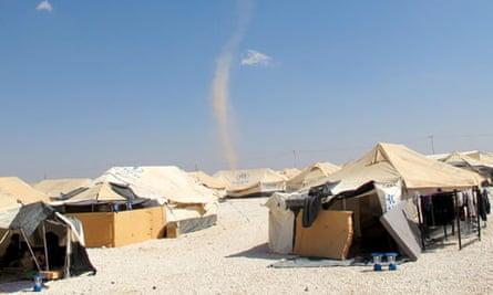 MDG Za'atari refugee camp, Jordan