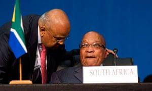 MDG Brics Pravin Gordhan and Jacob Zuma