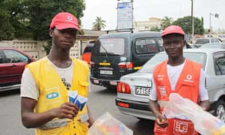 MDG mobile phones in Ghana