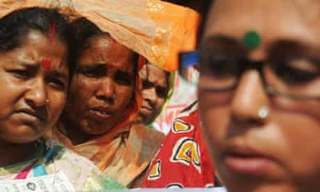 MDG : Gender equality : India female labourers demand equal social and financial rights