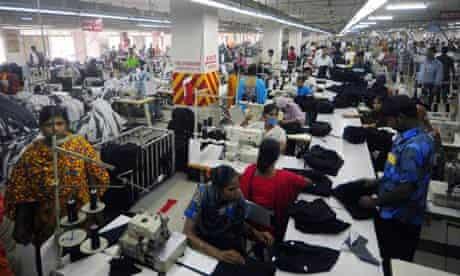 MDG : Bangladesh : Garment factory