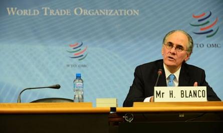 MDG : WTO director general candidates : Herminio Blanco
