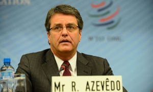 MDG : WTO candidates for the director general  : Roberto Carvalho de Azevedo