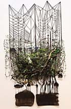 China blog : Forest for the Trees C by Adriane Colburn part of Unfold exhibits in Beijing
