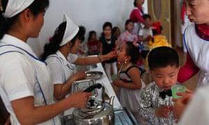 North Korea nurses