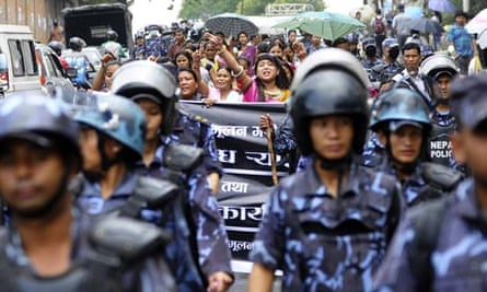 MDG : Child labour in Nepal : former indentured child labourers have staged protests across Nepal