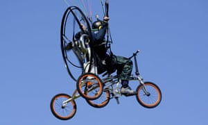 The Paravelo, XploreAir X1, the world first production flying bicycle