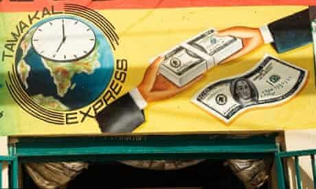 MDG : Money exchange shop in Hargeysa, Somaliland, Somalia