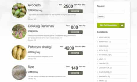 MDG : Kenya tech firm tells farmers the real price of their produce : M-Farm market place