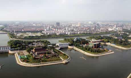The Jiangdu station on the South-to-North Water Diversion Project's eastern route