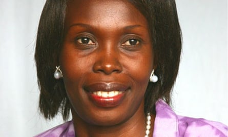 MDG : Josephine Okot from Victoria Seeds selling vegetable seeds and cereals seeds in Uganda