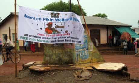 MDG healthcare in Sierra Leone