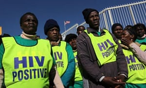 MDG HIV in southern Africa