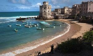 MDG Indian Ocean meets Somali coast.
