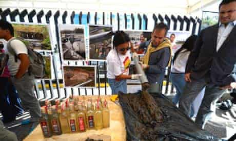 MDG : organization of indigenous people affected by US oil company Chevron, Ecuador