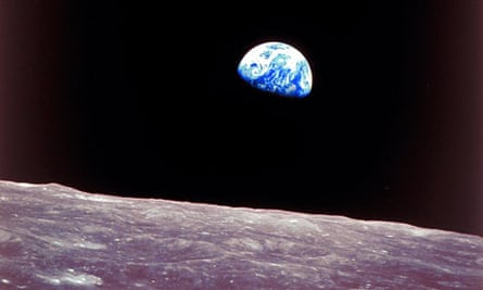 Apollo 8 view of earthrise over the moon was uesd on first Whole Earth catalog