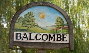 Balcombe in Surrey where Cuadrilla is propecting for oil and may be fracking