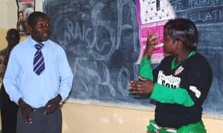 MDG : Zambia deaf youth and HIV  : The safe Love club