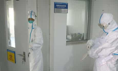 deadly H7N9 strain of bird flu or SARS