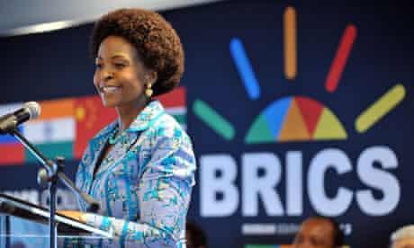 MDG :  BRICS summit in Durban, Maite Nkoana-Mashabane