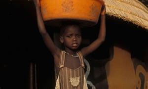 A child in Gambella, Ethiopia