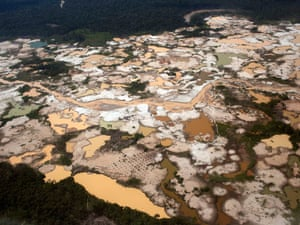 Mercury pollution due to informal gold mining in Peru's Amazon