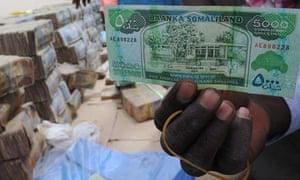 MDG : Somalia remittance : Somali money changer : Somalialand banknotes