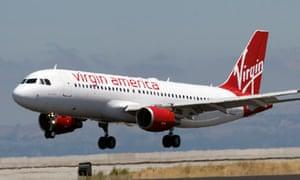 Virgin America flight lands in San Francisco