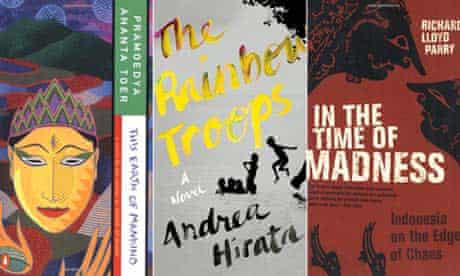 MDG : Best books on Indonesia : Pramoedya Ananta Toer, Andrea Hirata, Richard Lloyd Parry