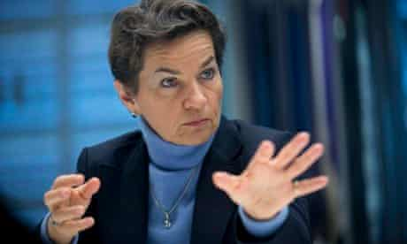 Christiana Figueres, Executive Secretary of UN Framework Convention for Climate Change