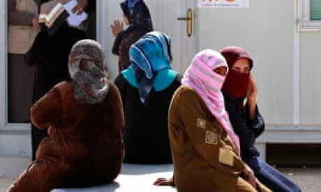MDG : Syrian refugee women : Sexual violence in Zaatari refugees camp, Za'atari, Jordan