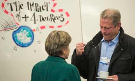 Al Gore at  World Economic Forum in Davos