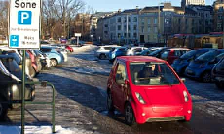 Electric Cars in Oslo, Norway