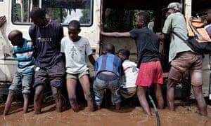 MDG : LDC report : floodwaters in Bamako, Mali