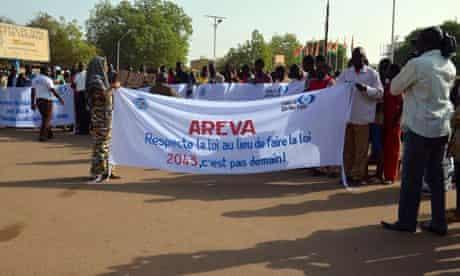MDG : Uranium mining and Areva in Niger
