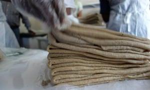 MDG : Mama Fresh Injera teff factory in Addis, Ethiopia
