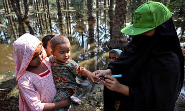 MDG Polio in Pakistan