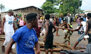 MDG law and order in Sierra Leone