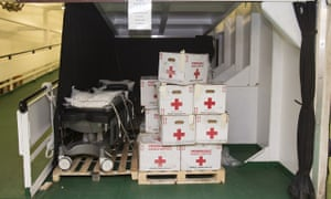 MDG medical supplies for Sierra Leone
