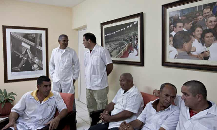 MDG Cuban doctors and Ebola