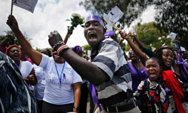 MDG #MyDressMyChoice protest in Nairobi