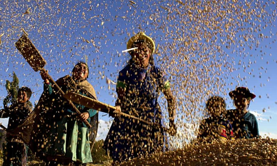 MDG land rights in Peru
