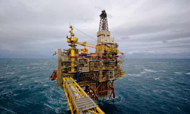 MDG Statoil's Oseberg gas drilling platform