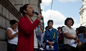 MDG : Activist Iduvina Hernandez speaks out in support of Guatemala's attorney general