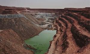 MDG : Areva's Somair uranium mining facility in Arlit, Niger.