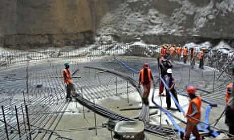 MDG : Construction of Gibe III Dam, near Lake Turkana, Ethiopia