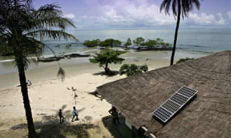MDG : Solar power in Guinea-Bissau