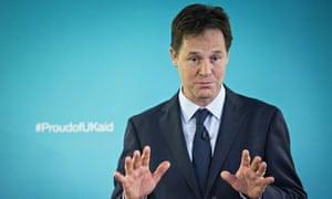 MDG : Nick Clegg