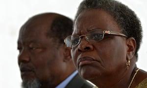 MDG: Namibian foreign affairs minister Netumbo Nandi-Ndaitwah