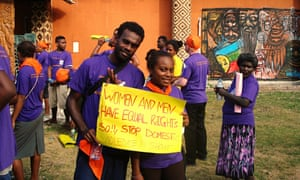 MDG gender equality activists in the Pacific Islands